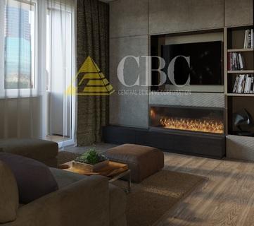 Дизайн-проект однокомнатной квартиры 43 кв. м.: способы выделить спальную зону, цена дизайна интерьера