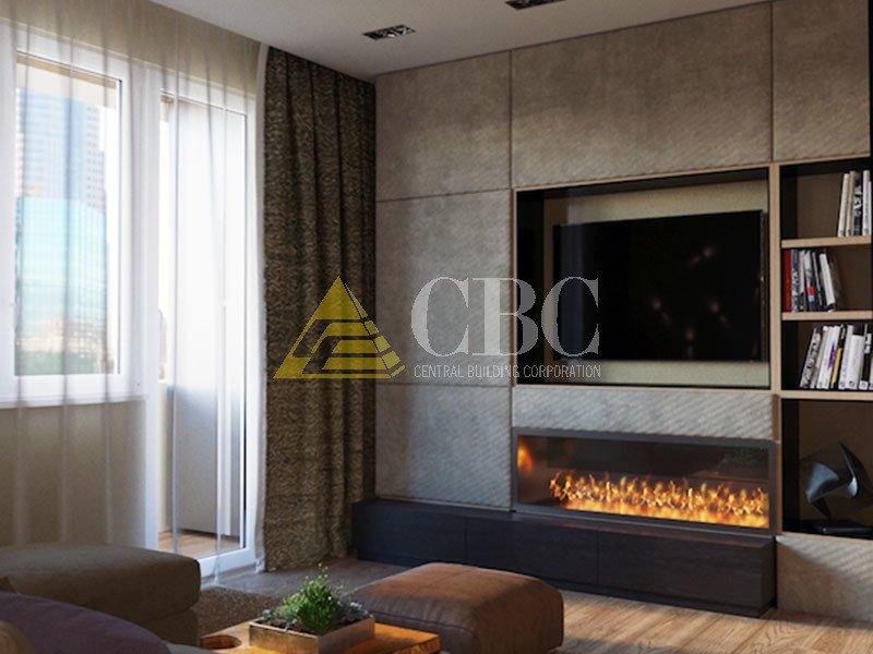 Дизайн-проект трехкомнатной квартиры 63 квм в Москве