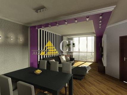 Особенности и нюансы дизайна интерьера трехкомнатной квартиры в современном стиле
