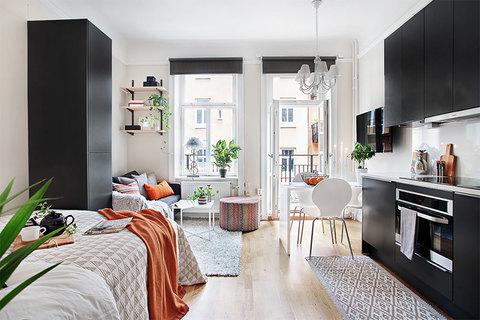 8 хитростей дизайн-проекта квартиры-студии